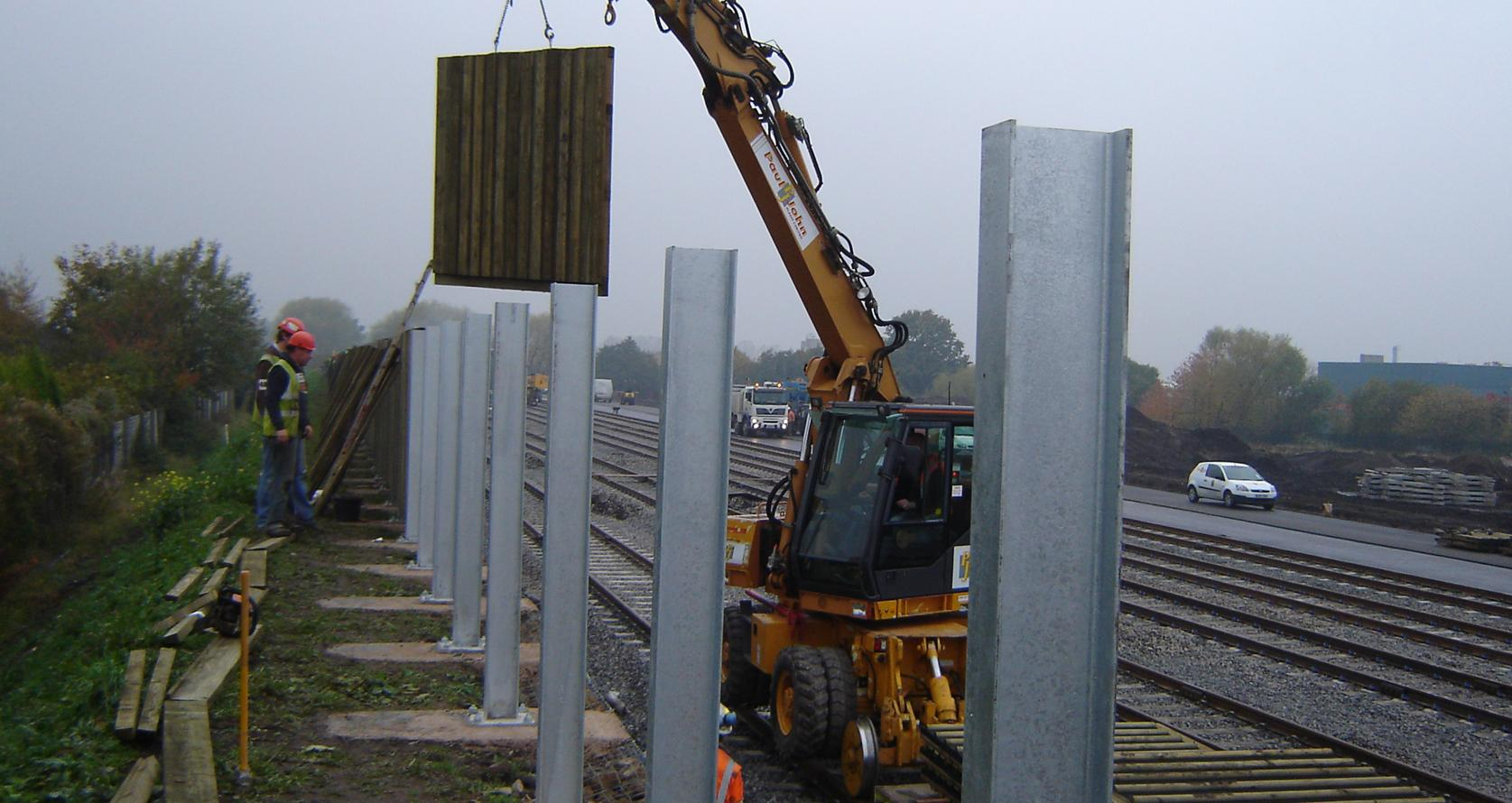 Acoustic Amp Environmental Barriers Midlands Shropshire