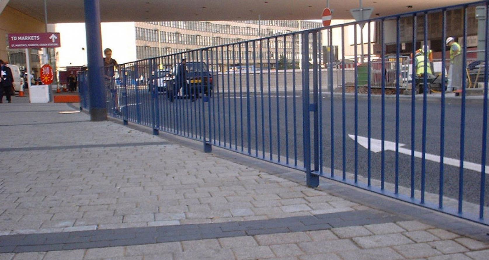 Pedestrian Guard Rail Fencing Midlands Shropshire